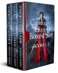 The Courtlight Series boxed set is today's featured Kindle freebie.