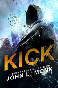 Supernatural thriller Kick is today's highest-rated free Kindle book.