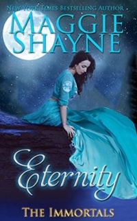 Paranormal romance novel Eternity is today's highest-rated free Kindle book.