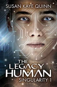 Science fiction novel The Legacy Human is today's highest-rated free Kindle book.