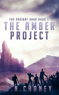 Dystopian adventure novel The Amber Project is today's highest-rated free Kindle book.