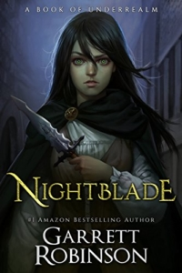 Epic fantasy novel Nightblade is today's featured free Kindle book.