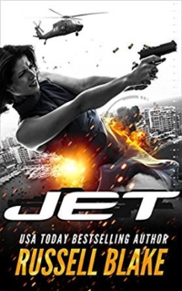 Thriller JET by Russell Blake is today's highest-rated free Kindle book.