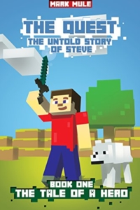 Minecraft adventure novel The Quest is today's highest-rated free Kindle book.