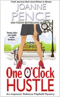 Cozy mystery One O'Clock Hustle is today's featured free Kindle book.