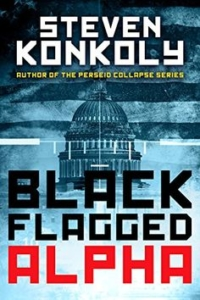 Action thriller Black Flagged Alpha is today's highest-rated free Kindle book.