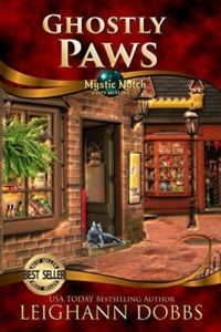 Cozy mystery novel Ghostly Paws is today's highest-rated free Kindle book.