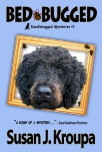 Cozy dog mystery Bed-Bugged is today's highest-rated free Kindle book.