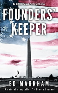 Political thriller Founders' Keeper is today's highest-rated free Kindle book.