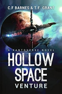Sci-fi novel Hollow Space is today's highest-rated free Kindle book.