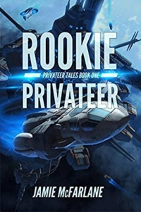 Sci-fi novel Rookie Privateer is today's highest-rated free Kindle book.
