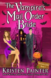 Fun paranormal romance novel The Vampire's Mail Order Bride is today's highest-rated free Kindle book.