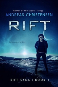 Dystopian novel RIFT is today's highest-rated free Kindle book.