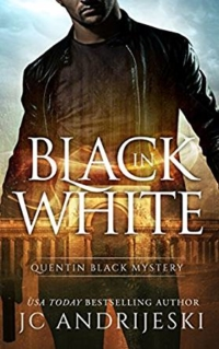 Paranormal mystery novel Black in White is today's featured free Kindle book.