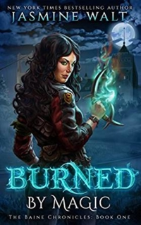 Fantasy novel Burned By Magic is today's highest-rated free Kindle book.