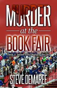 Cozy mystery novel Murder at the Book Fair is today's highest-rated free Kindle book.