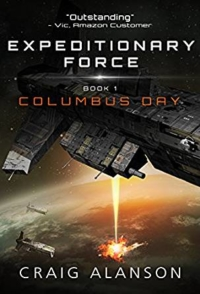 Sci-fi novel Columbus Day is today's highest-rated free Kindle book.