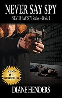 Never Say Spy is today's highest-rated free Kindle book.